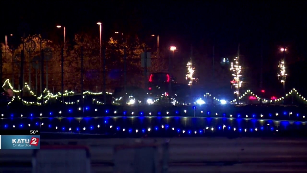 24th Annual Winter Wonderland Opens At The Portland International  - Portland International Raceway Christmas Lights