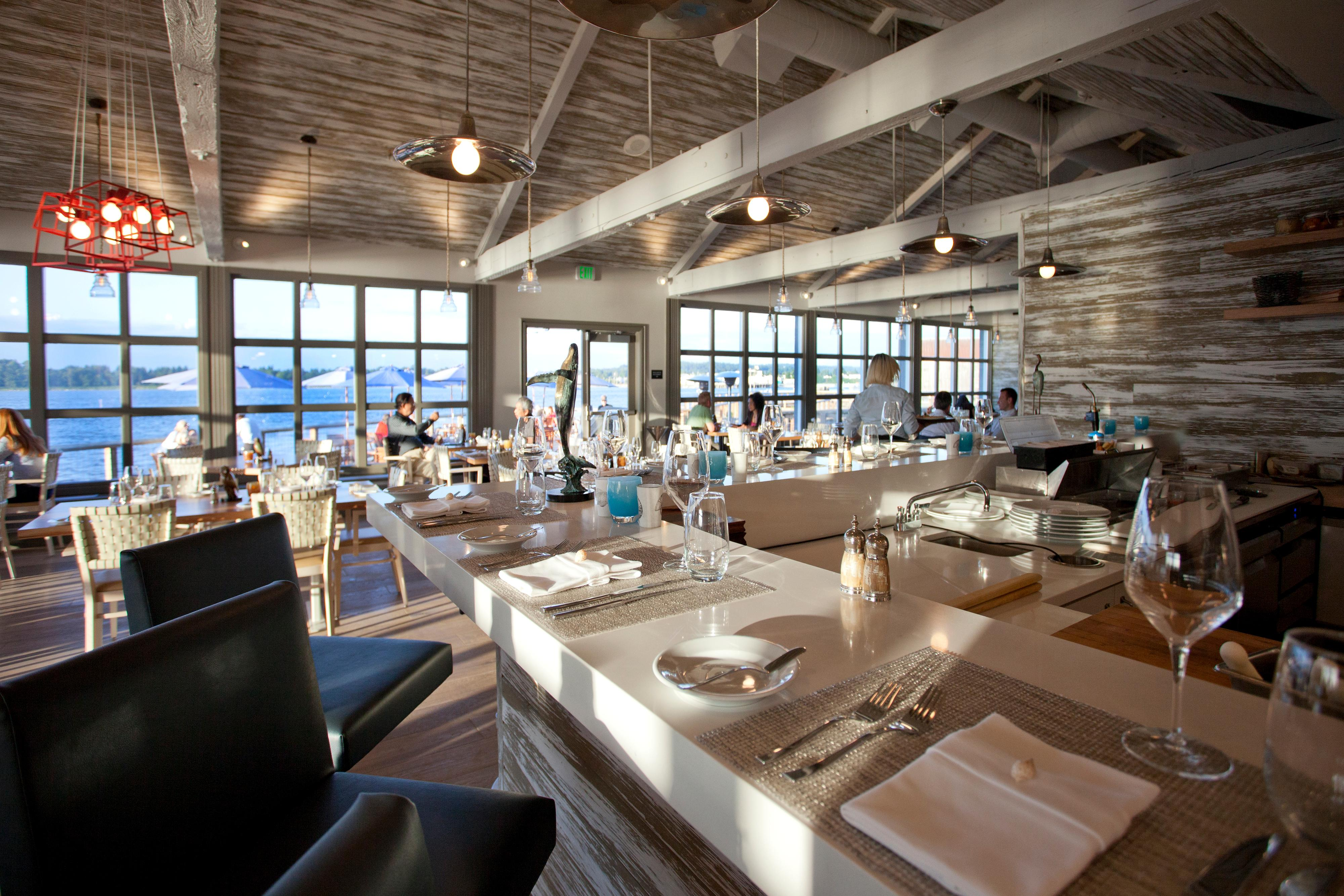 Semiahmoo's Pierside Kitchen offers some of the area's best seafood in a relaxed upscale setting
