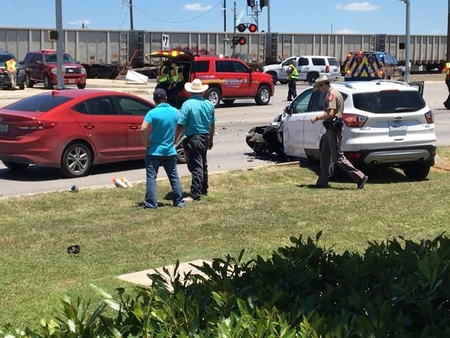 Major accident on FM 78 and CR 3009 in Schertz (Photo: SBG San Antonio / Carlos Sanchez)