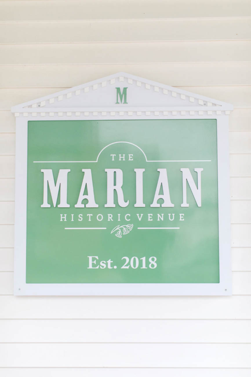 You can email them at bookings@themarianevents.com to host your next event there.{ }/ Image courtesy of The Marian // Published: 12.27.19