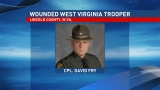 West Virginia State Police releases picture of trooper injured in shooting