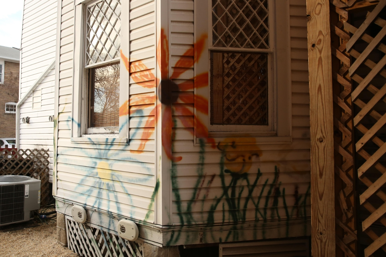 There's an abundance of street art on the homes and stores. (Amanda Andrade-Rhoades/DC Refined)