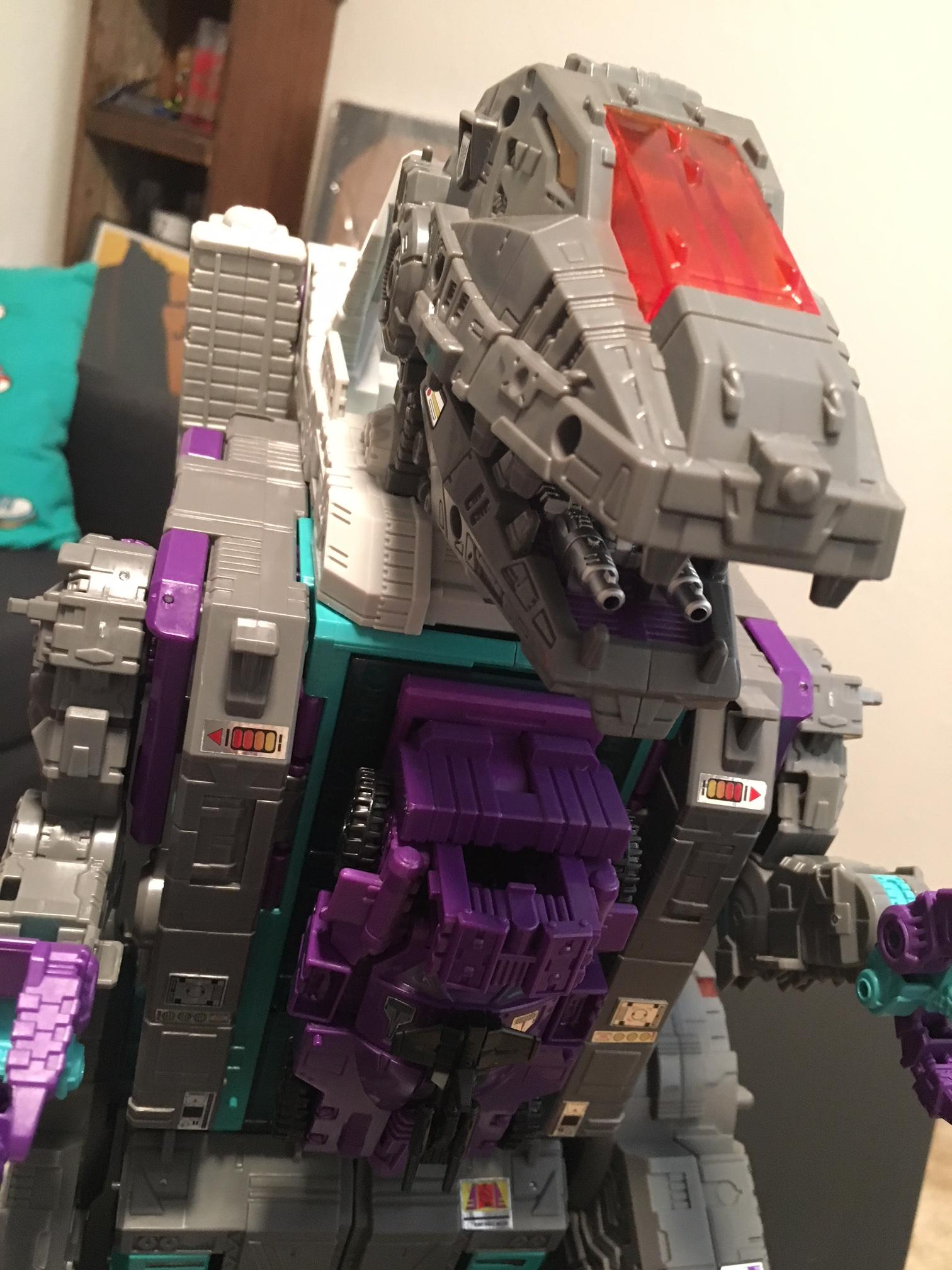 "Giant Transformer Trypticon, the lumbering Decepticon dinosaur that will likely be in the background of a future ""Stranger Things"" episode, is back for 2017! (Photo: Jerrod Kingery)"