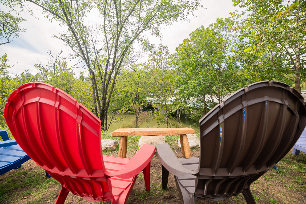 Sit in the back yard of Little Miami Brewing Co. in one of their many Adirondack chairs. / Image: Allen Meyer // Published: 9.7.18