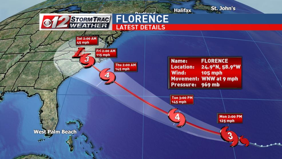 Resultado de imagen para florence hurricane