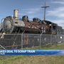 Port Arthur city officials make deal to scrap historic train