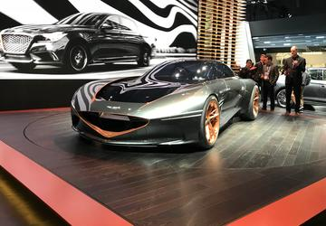 PHOTO GALLERY: Genesis Essentia Concept at the New York Auto Show