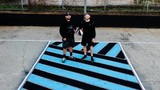 COURT OF ART | 2 men transform south Baltimore basketball court