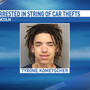 Former YRTC teen arrested in Lincoln, accused of stealing four cars