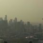 Air quality drops to moderate as smoke sticks around in Seattle area