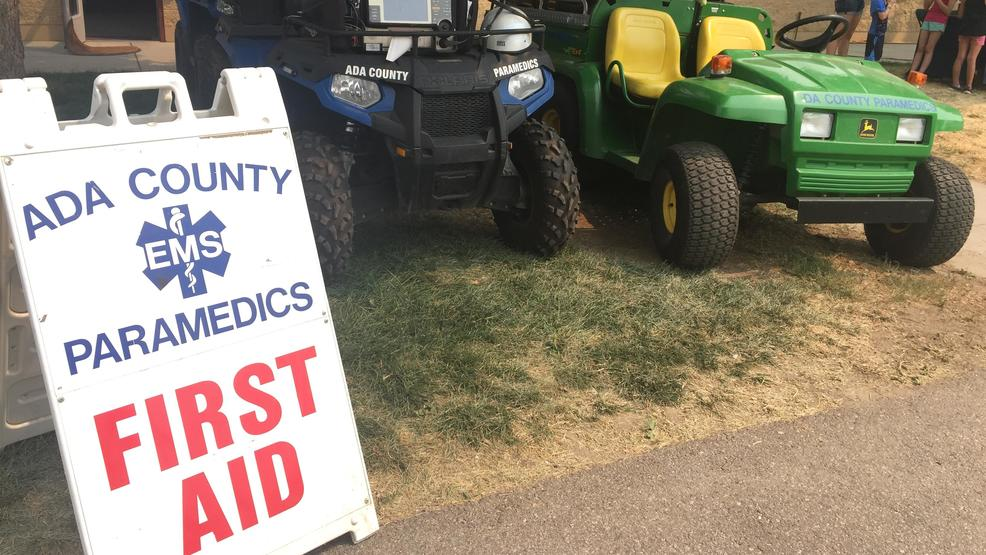 Ada County Paramedics prepare for all possibilities at Western Idaho Fair
