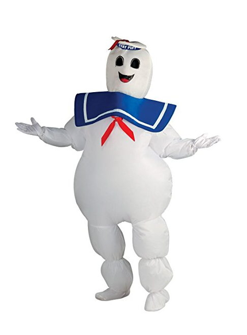 Rubie's Ghostbusters Inflatable Stay Puft Marshmallow Man Costume (Amazon Prime Now)