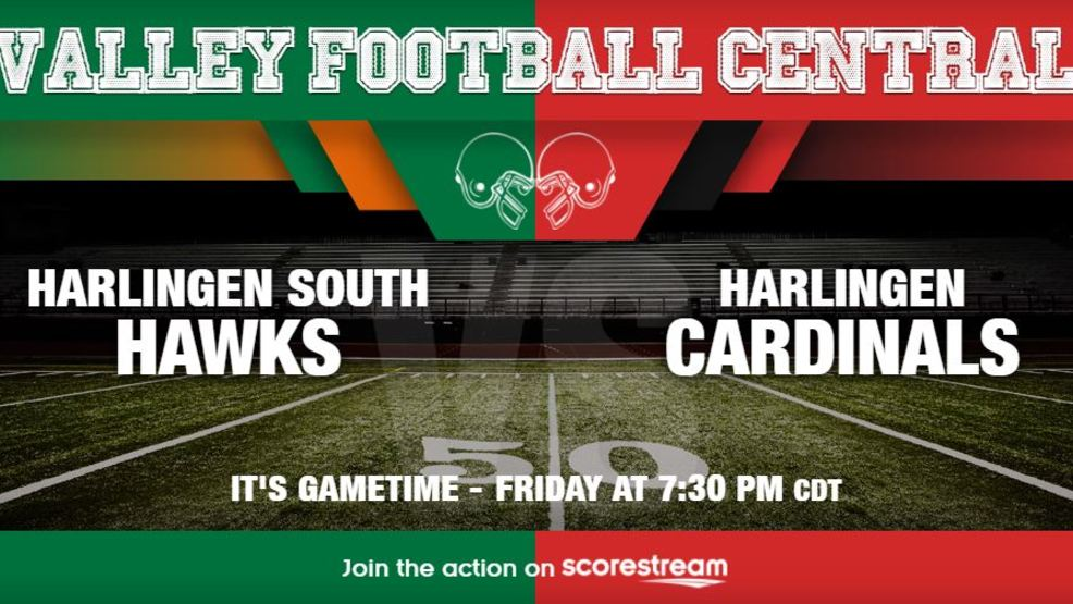 Listen Live: Harlingen South Hawks at Harlingen Cardinals