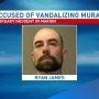Man arrested for vandalizing Marion mural