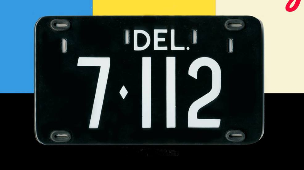 low-number delaware license plate auctioned for $410k | kcby