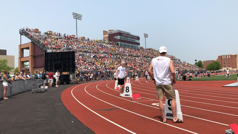 Local athletes competed at Day 1 of the Division 2 and 3 state track and field meet at UW-La Crosse May 31, 2019.