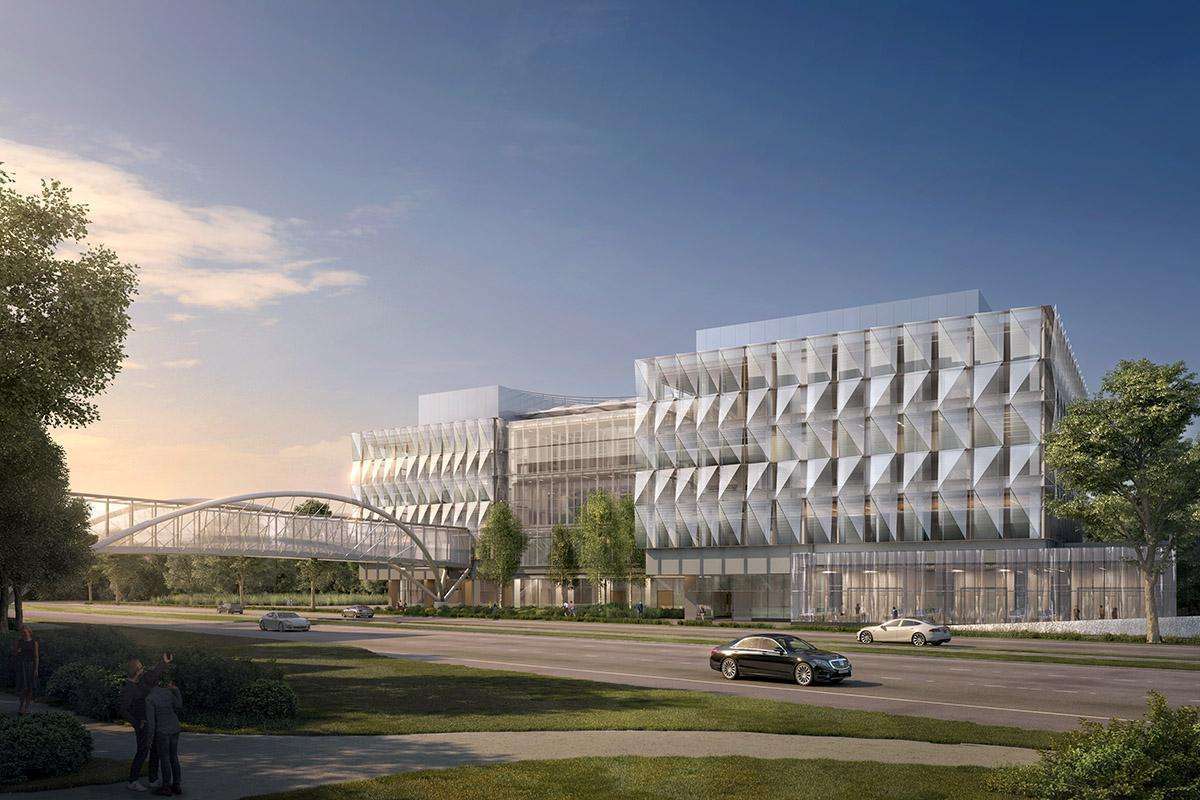 <p>The University of Oregon unveiled architectural renderings of the Phil and Penny Knight Campus for Accelerating Scientific Impact on Friday, October 27. The $1 billion initiative is buoyed by a $500 million gift from Penny and Phil Knight. (Courtesy University of Oregon)</p>