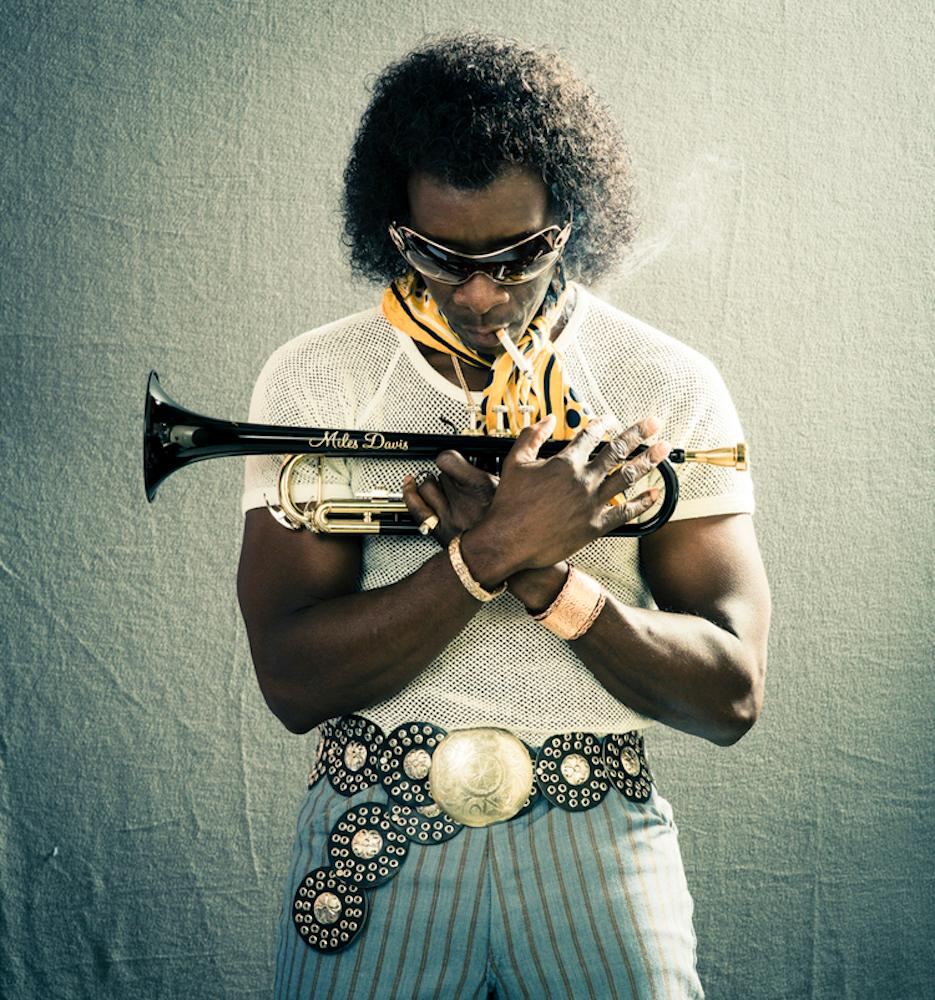 "Pictured: Don Cheadle starring as Miles Davis in ""Miles Ahead"" / Story: ""Brian Douglas Quit His Q102 Gig To Pursue Hollywood Film Photography / Image: Brian Douglass // Published: 8.2.18"