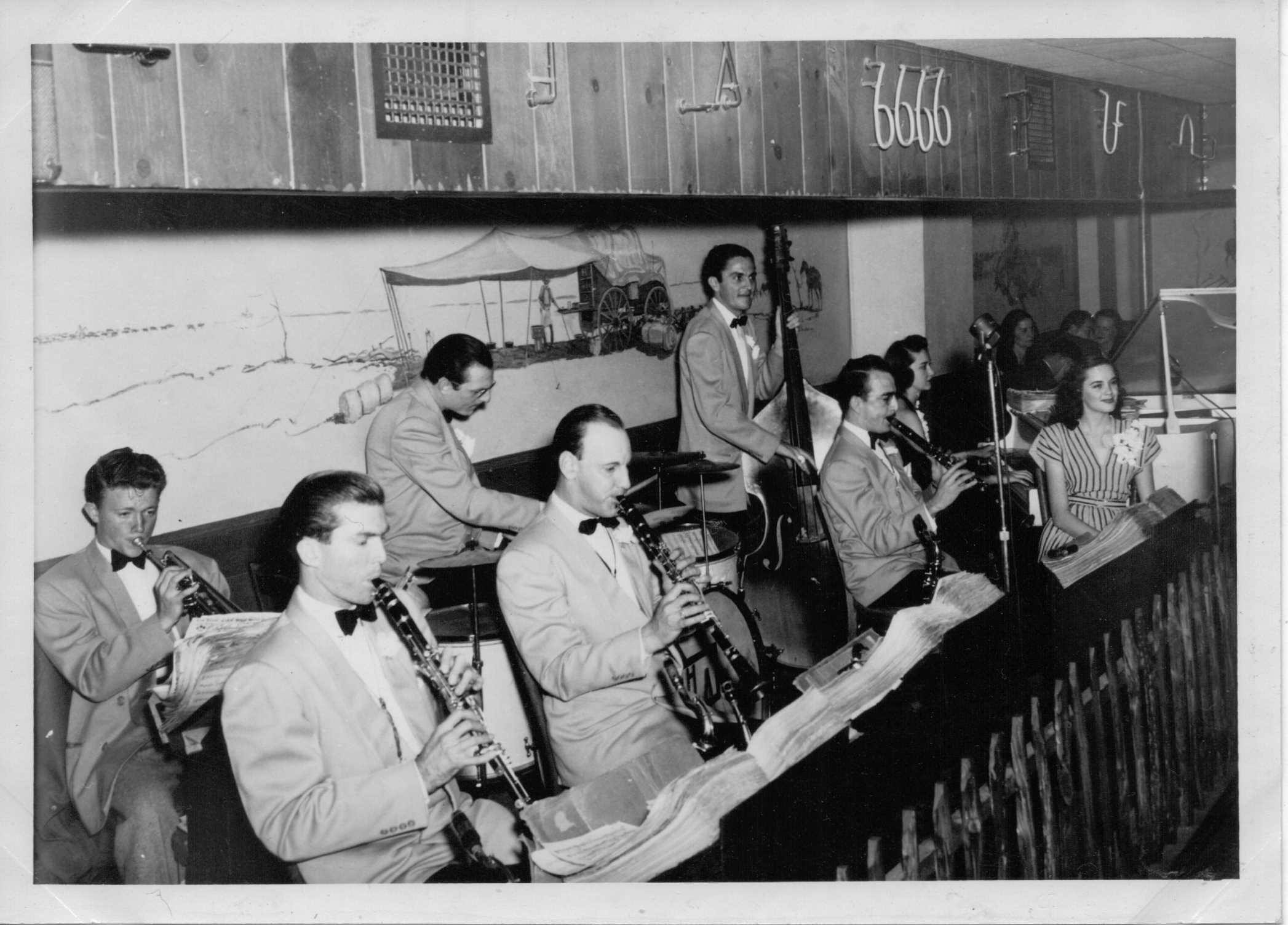 The Dick Morton Band plays in the Herring Hotel's Old Tascosa Club  circa 1946ish. (courtesy: Herring Hotel / Mel Griswold){&amp;nbsp;}<p></p>