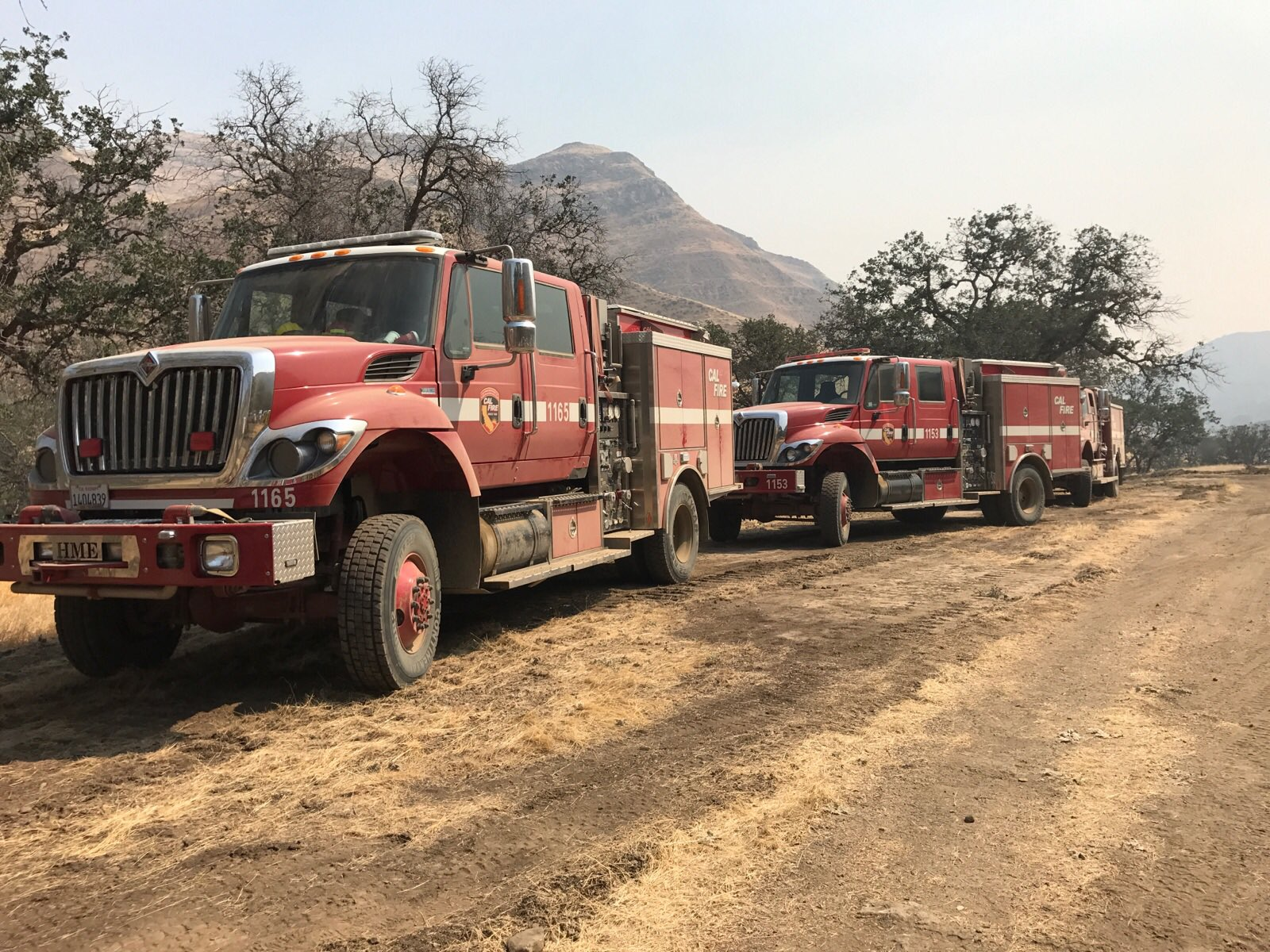 The Garza Fire near Avenal has now burned 48,403 acres which is a little more than 75 square miles, according to CalFire. (Photo: CalFire/FresnoCoFire)