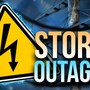 Power outages in our area Sunday morning