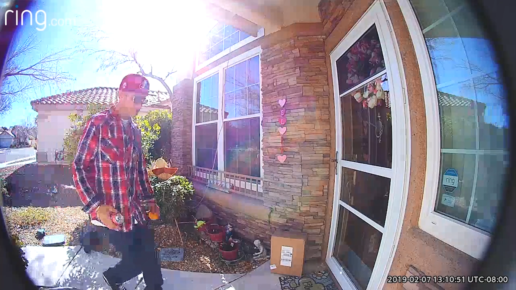 Nevada porch pirate steals 14-year-old boy's chemotherapy medicine (KLAS/CBS Newspath)