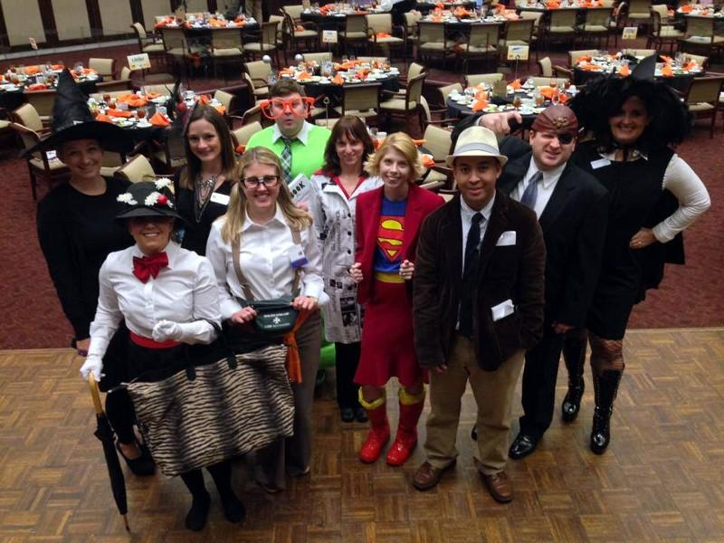 Happy Halloween from The Harbert Center & the Birmingham Business Journal!
