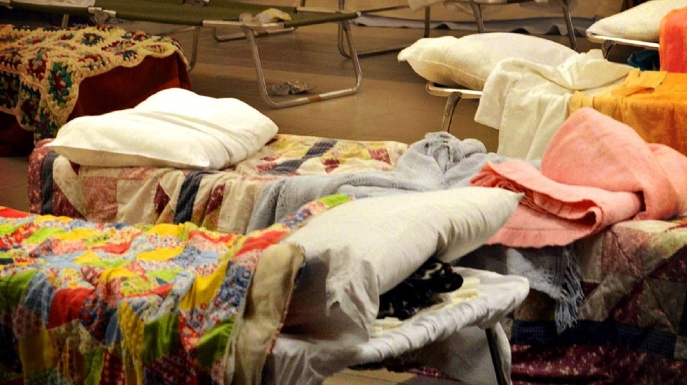 Area Shelters Open Monday As Severe Weather Approaches Wtvc