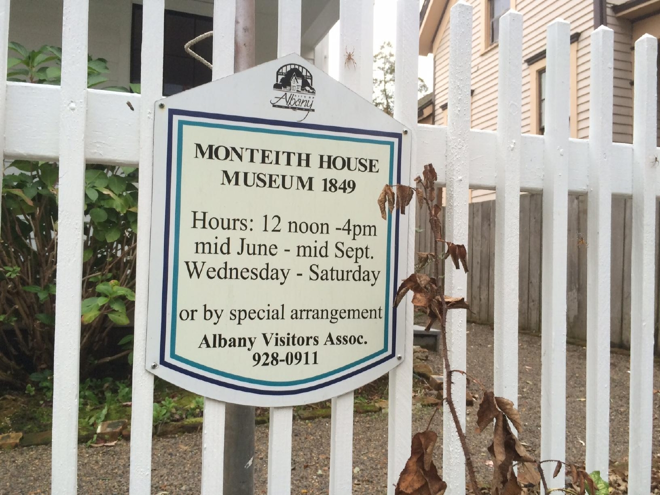 Take a tour through the Monteith house and learn about its haunting past. (SBG)