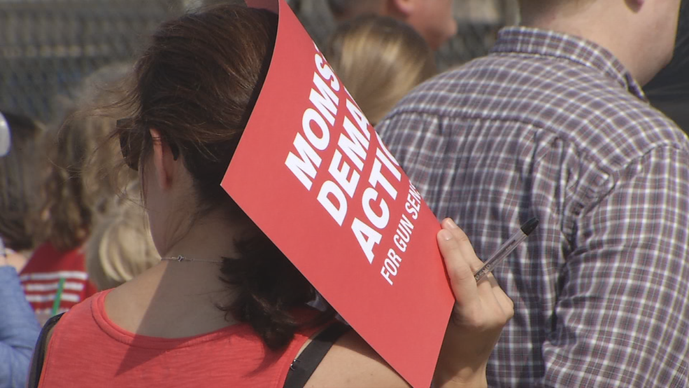 Protesters demand gun control action at Oklahoma State Capitol