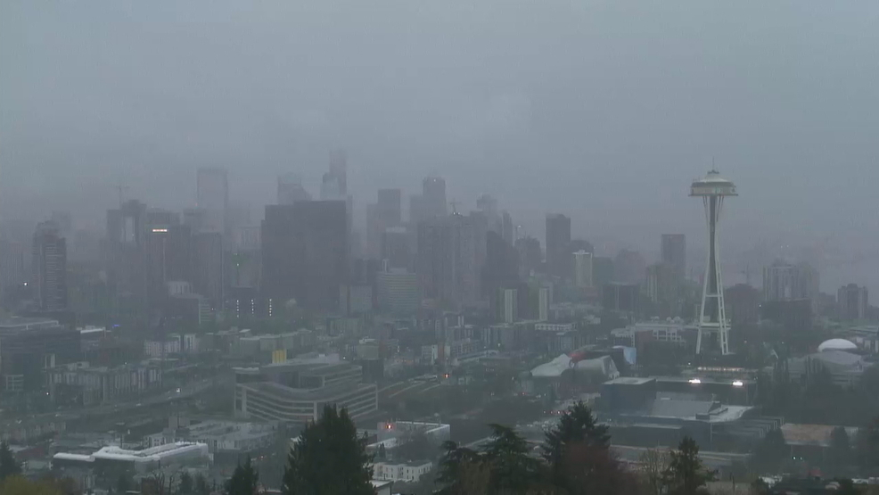 Saturday was the wettest April weekend day on record in Seattle