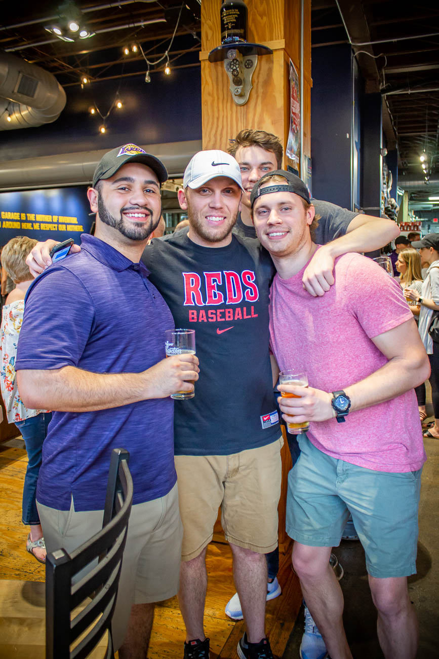 Eric Pouncy, Jordan Adkins, Kevin Jehn, and Billy Jehno{ }/ Image: Katie Robinson, Cincinnati Refined // Published: 4.19.19