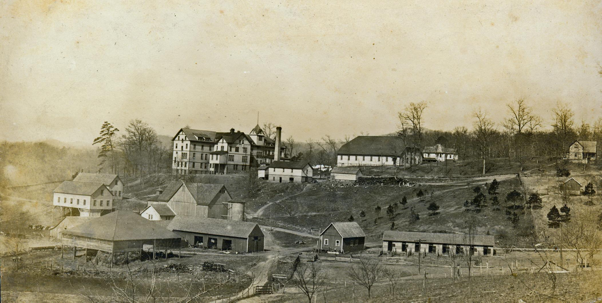 After 123 years, Warren Wilson College is still uncovering more about its roots. Soon, a recently discovered farm school ledger will be scanned and made available to the public.  The book is connecting some interested dots in Appalachian history. (Photo credit: Warren Wilson College Archives)