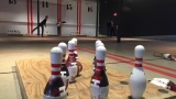 Popular new sport merges bowling and football