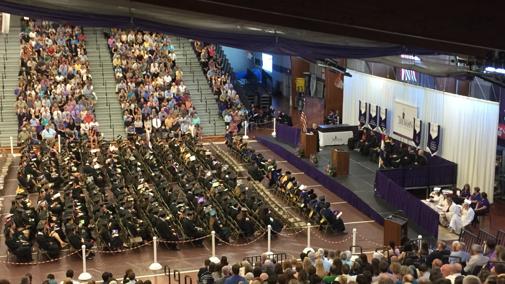 truman graduation celebrated over the weekend