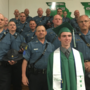 Highway Patrol troopers attend graduation for fallen officer's son