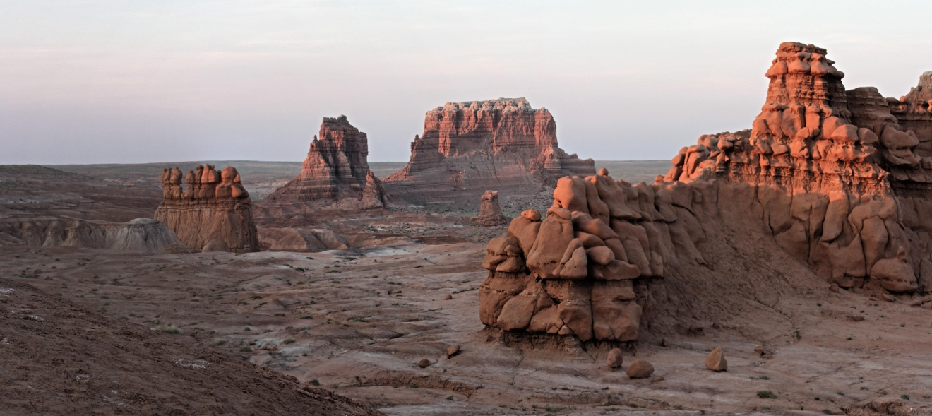 Goblin Valley Sunset Wide