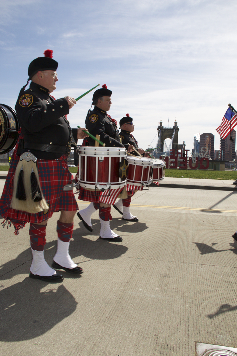 The 2017 St. Patrick's Day Parade took place in Downtown Cincinnati on Saturday, March 11. / Image: Dr. Richard Sanders
