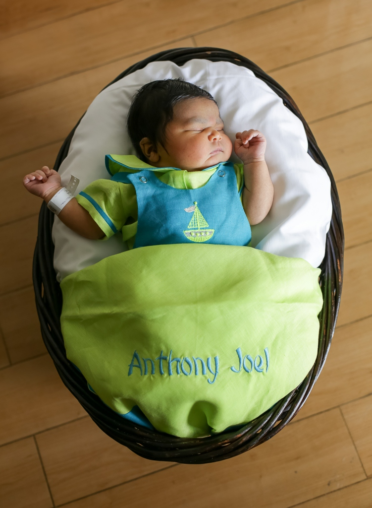 Anthony, our Baby of the Day for April 8, 2016. Photo courtesy of Palms West Hospital and Bella Baby Photography
