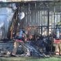 Trailer destroyed after barbecue fire in Pasco