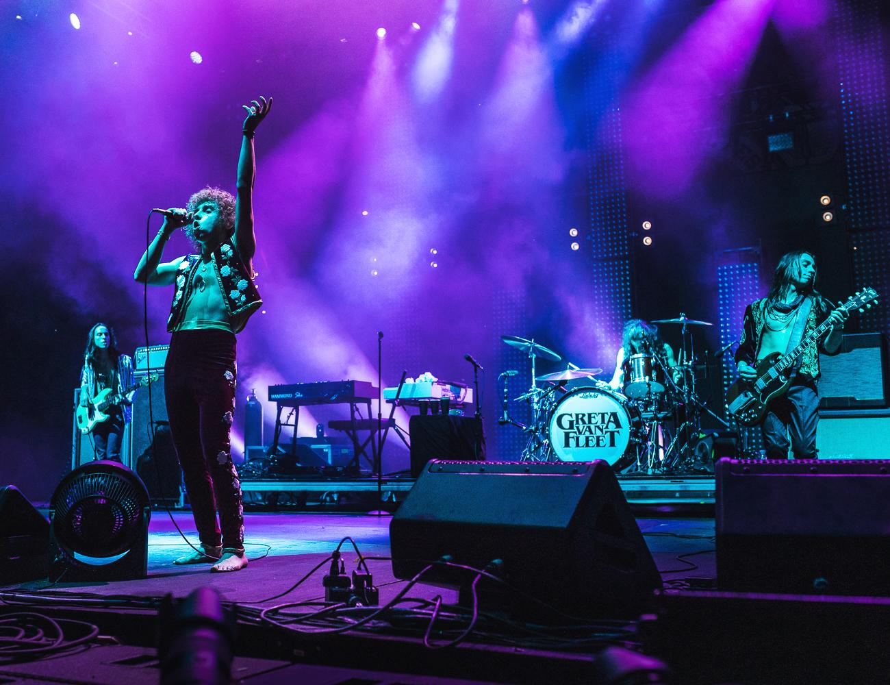 Greta Van Fleet / Image: Brittany Thornton{ }// Published: 6.3.19