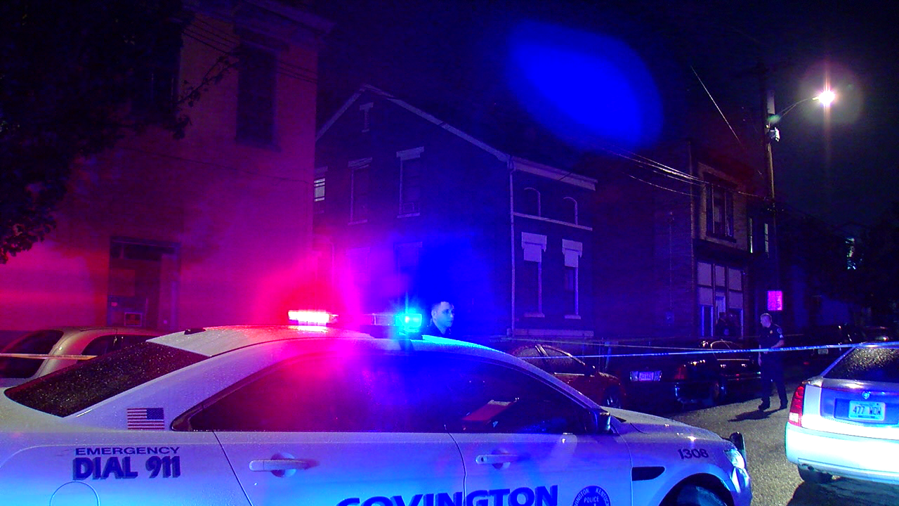 A man is recovering in the hospital after being shot in Covington Tuesday night (WKRC)