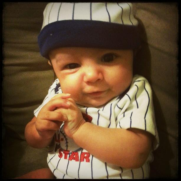 Lil Baseball Fan