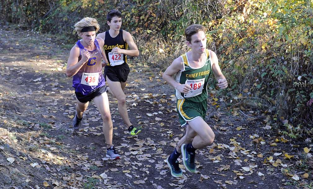 3A/2A/1A-SD6 XC Championships at Valley of the Rogue State Park in Rogue River 10-26-17. - Andy Atkinson