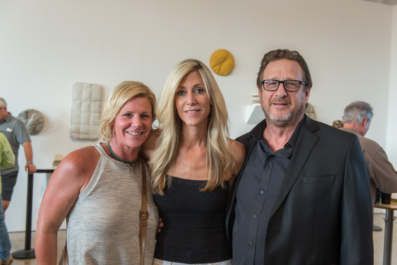 Lauren Early, Katie Anning, and Jim Caruso{ }/ Image: Mike Menke