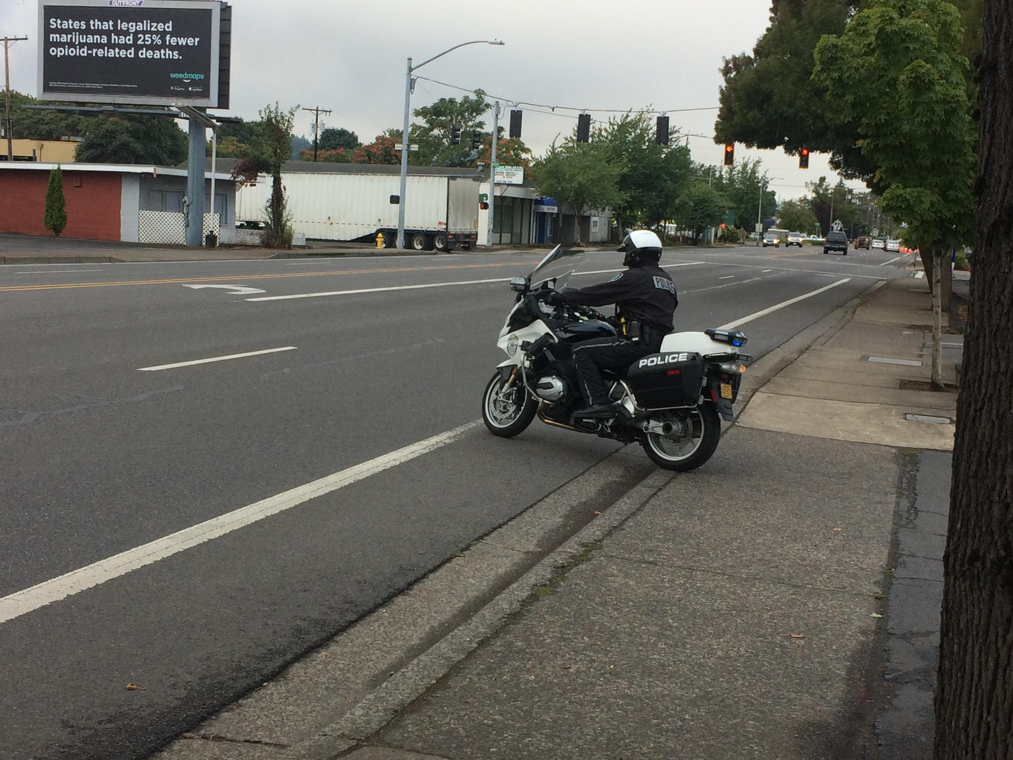 We break down the exceptions to Oregon's new distracted driving law. Photo by Audrey Weil.