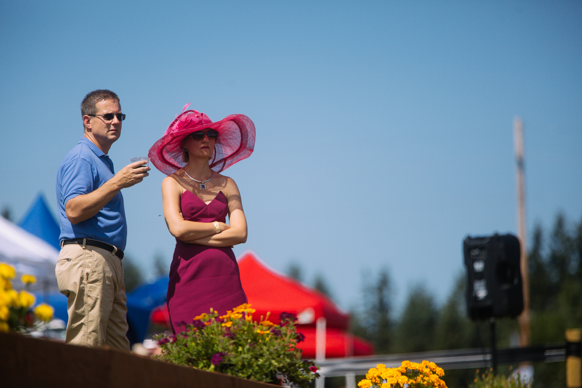 Photos: Fans flaunt fancy hat fashion at Seattle Polo Party ...
