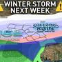Winter weather likely next week
