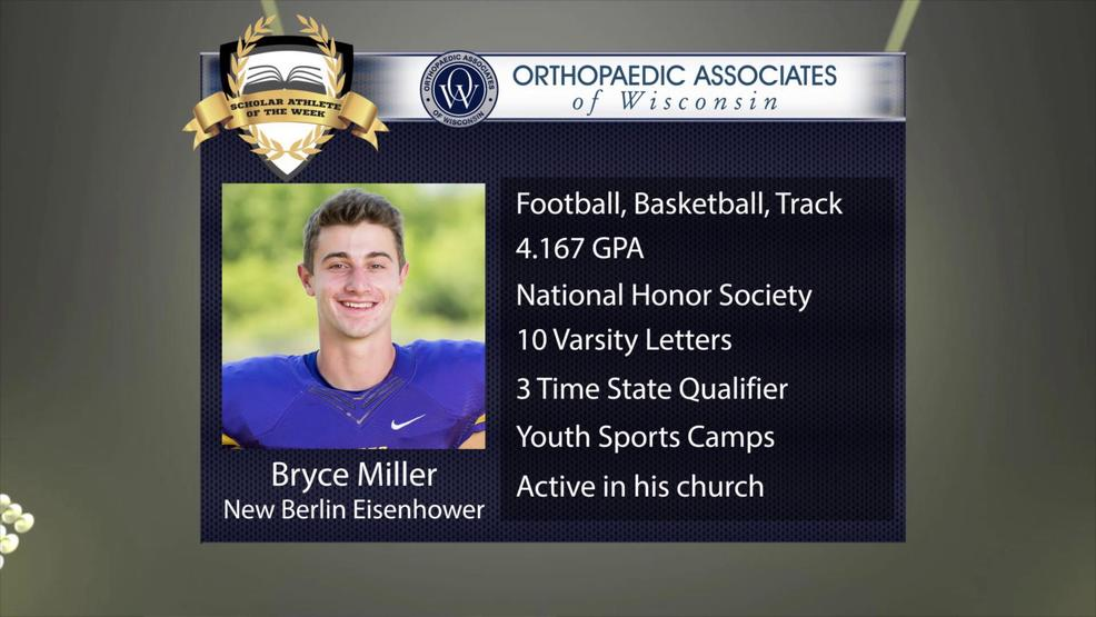OAW 2017 Scholar Athlete Nominee: Bryce Miller