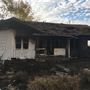 Abandoned house in Wasco damaged in fire